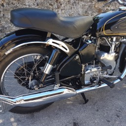 1954 Velocette MSS swing arm model