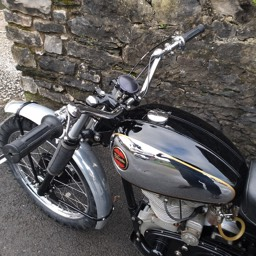 1938 Velocette KSS MkII full side view