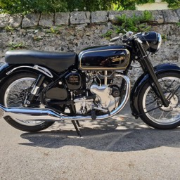 1967 Velocette MSS right side view