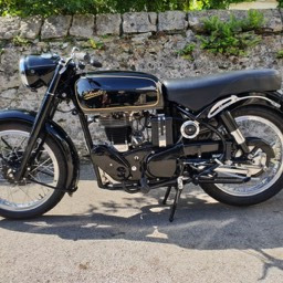 1967 Velocette MSS other side view