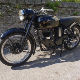 1967 Velocette MSS Front side view 2
