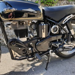 1967 Velocette MSS engine side view 1