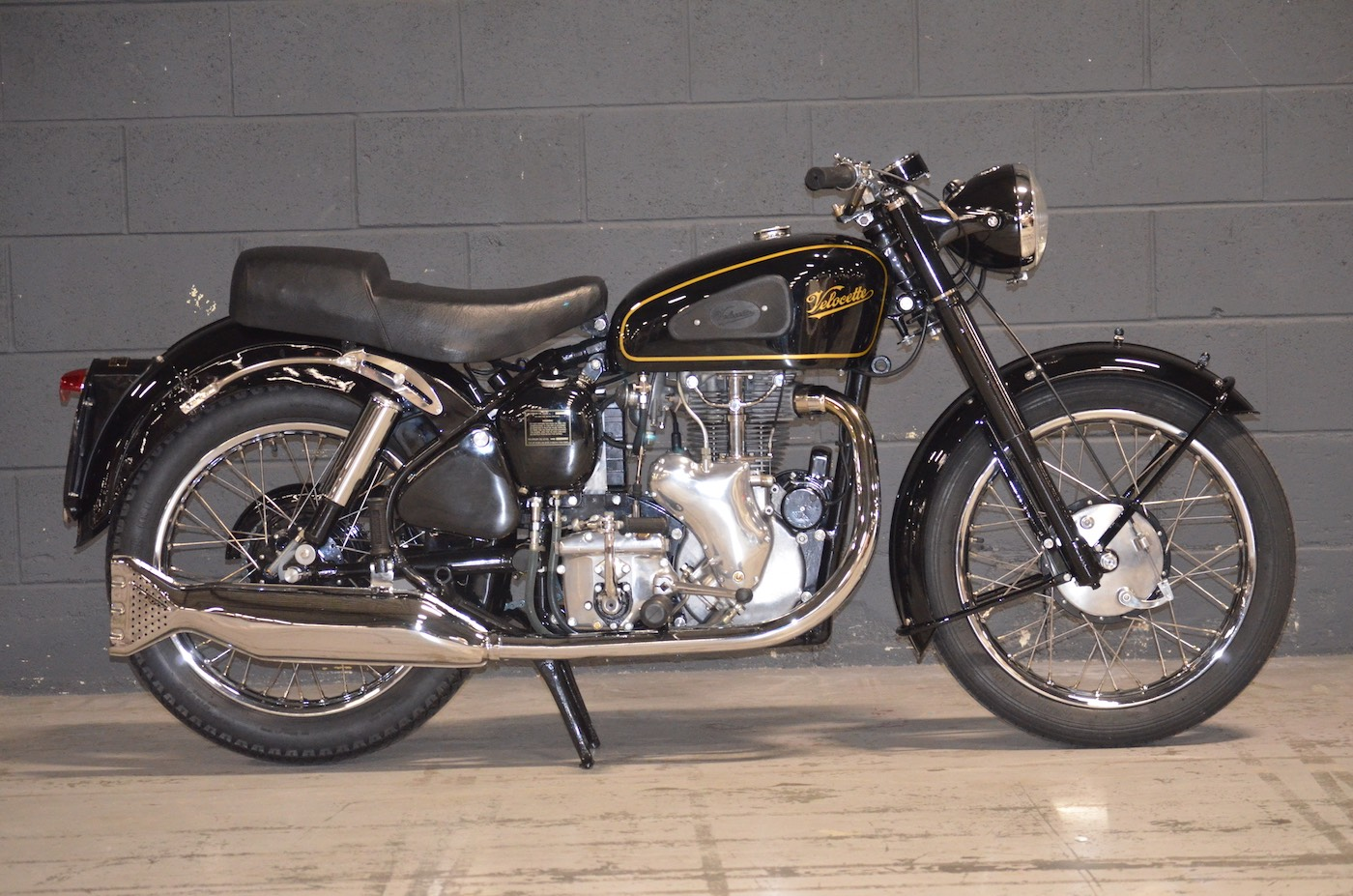 1954 Velocette MSS right side