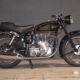 1954 Velocette MSS view