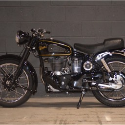 1954 Velocette MSS Offside view