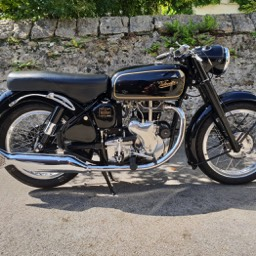 1967 Velocette MSS Nearside view