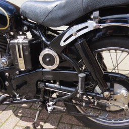 1953 Velocette MAC Close up image