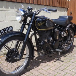 1953 Velocette MAC Front view image